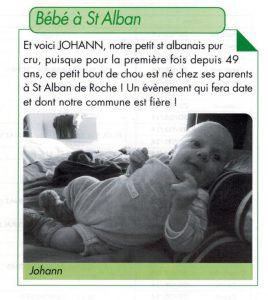 Extrait de la Gazette de Saint Alban (38)